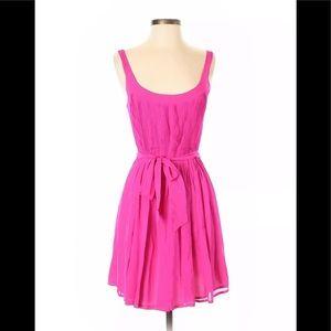 Broadway and Broome silk fuchsia dress 4